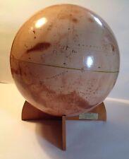 "Denoyer-Geppert 16"" Visual Relief Mariner 9 Mars Globe, 1st Edition- 1973 (NASA)"