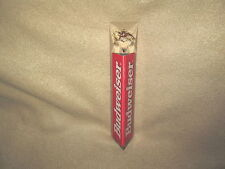 """Vintage Budweiser Anheuser Busch Beer 8"""" ACRYLIC Tap Very Good Condition"""