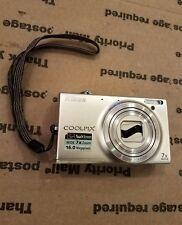 Nikon COOLPIX S6100 16.0MP Digital Camera - Silver