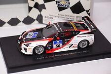 EBBRO LEXUS LFA 2010 #50 NURBURGRING 2010 24 HOUR RACE REF 44389 1:43