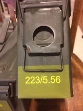 Vinyl Ammo Can Markers/label 223 / 5.56  30 cal or 50 cal ammo can