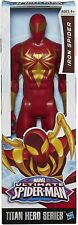 Official Marvel Avengers Titan Hero Spiderman Iron Spider Figure Toy 12 inch