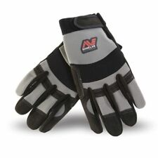 Minelab Digging Gloves Grey & Black Protect Your Hands Universal Fit 9999-0058
