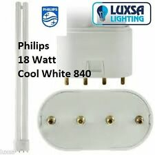 Philips Standard 18W CFL Light Bulbs