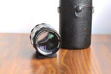 PENTAX Asahi Super Multi Takumar 135mm f/3.5  M42 Screw mount lens   w/ Case