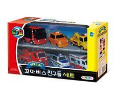 Little Bus TAYO FRIENDS Special Mini 6Pcs Toy Set Citu+Alice+Nuri+Pat+Toto+Frank