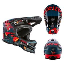 Oneal Blade Polyacrylite Rid MTB Helm Fullface Downhill DH-Helm