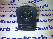 SAAB 9000 CS Dashboard Clock Unit with Info Display Button 1985 - 1998 9513334