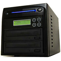 1 Burner 24X CD DVD Disc Duplicator Copier Multi Dual Layer Standalone Recorder