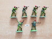 Britains Super Deetail Modern British Paratroopers - Spares   (lot 3328)
