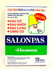 12-120 SALONPAS Pain Relieving Arthritis Muscle Pain Relief SUPER FAST SHIP