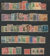 Worldwide: America; Lot of 60 different stamps, good countries, used ... WO121