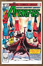 Avengers #187 poster art print '92 John Byrne, Scarlet Witch