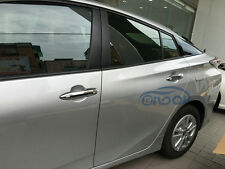 Fit Toyota Prius 2016 2017 Chrome ABS Car Side Door Handle Cover Trims