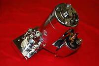 Sbc Bbc Chevy Mini Starter 2 Hp 2Hp Gear Reduction High Torque 153 168 Chrome