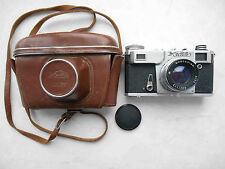 USSR Russian camera KIEV 4 AM CONTAX copy with case. Lens Jupiter -8M