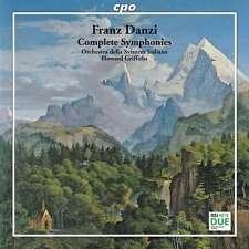 NEU CD Franz Danzi (1763-1826) - Sämtliche Symphonien #G56814020