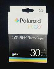 "Polaroid 2""x 3"" Premium ZINK Photo Paper Prints (30 Sheets) with Adhesive Backs"
