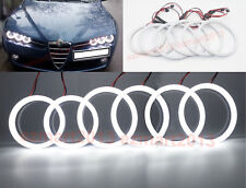 Cotton LED Halo Ring For Alfa Romeo 159 2005-2011 LED Angel Eyes Demon eye lamp