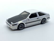 HOT WHEELS TOYOTA AE86 SPRINTER TRUENO *BOULEVARD SERIES* W/ RUBBER WHEELS