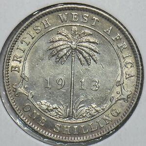 British West Africa 1913 Shilling 297752 combine shipping