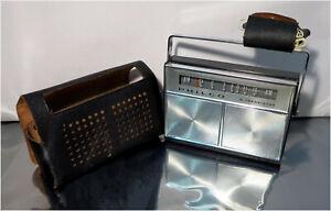 Vintage 60's Philco NT-807 BKG 8-Transistor AM Radio / Receiver