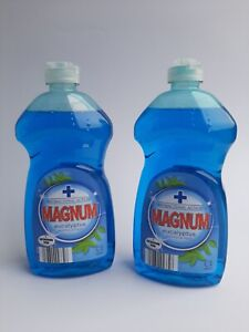 2 x 500ml MAGNUM Anti-Bacterial Washing Up Liquid with Eucalyptus