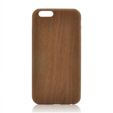 "For Apple iPhone 6 6s 4.7"" Luxury PU Leather Ultra-thin Wood Grain Case Cover"