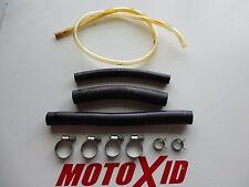1997 SUZUKI RM 125 RM125 RADIATOR HOSE HOSES CLAMPS OEM MOTOXID