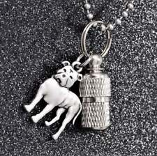 Pit Bull Cremation Urn Necklace, Pittie Memorial, Dog Loss Sympathy Gift
