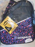 Transpack ICE Skate BackPack (Purple/pink Leopard)