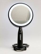 Conair Lighted Makeup Mirror LED with Folding Base Stand Black Illuminations