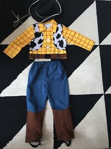 Boys Toy Story Woody Costume,Size 5-6 Years