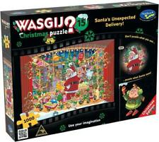 Holdson 772902 Wasgij?christmas Puzzle Santa's Unexpected Delivery 1000pc Jigsaw