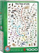 Eurographics The tree of life 1000 pc jigsaw puzzle DAMAGED age 12+ NEW, SEALED