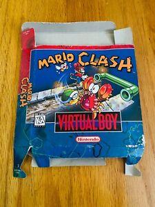 🔥Mario Clash Nintendo Virtual Boy VB Box ONLY
