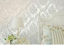 Damask Wallpaper Self Adhesive Glitter Contact Paper Removable Cover Home Decal