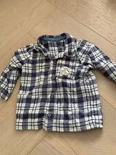 George Baby Boys Winnie The Pooh 2 Piece Flannel Pyjama Set Shirt Top &  Bottoms