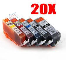 20x Ink Cartridge PGI525 BK CLI526 for Canon Pixma MG5150 MG6150 MG5350 MX895