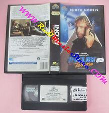 VHS film INCUBI DI TERRORE 1993 Chuck Norris MGM UA WIV 33052 (F20) no dvd