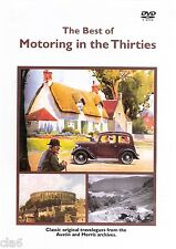 Motoring in the 1930s DVD - Austin 7 Morris 8 Minor * NEW