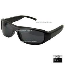 Sunglasses Video Camera Glasses Cams Ski Bike Action HD Security (No SPY Hidden
