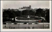 REIMS Carte France ~1945/60 CPA Panorama de la Gare Bahnhof Postkarte