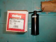 NOS HOLLEY A/C RECEIVER DRIER 1972-80 FORD HONDA CIVIC VW AUDI FOX TOYOTA MARK 2