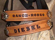Custom Saddle Bronc Halter, Your Horses Name, Award, Rodeo, Ranch.. G&E