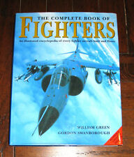 BOOK: Complete Book of Fighters / Aircraft Aviation Force War Military WWII F-16
