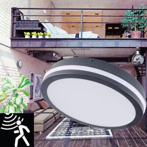 IP54 LED Garden Exterior Outdoor Security Bulkhead Wall Light Motion Sensor Lamp