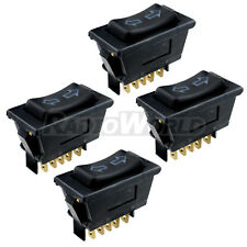 4 x Universal Electric Window / Aerial Switch Automotive Car 12V 5-Pin