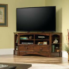 Corner TV Stand Media Game Entertainment Center Living Room Credenza Storage