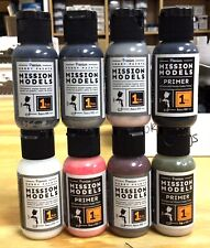Khs-8 Pack- Primer / Medium / Metallic Mission Model Paints-Mm17-3333